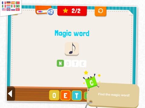 KidEWords - Crossword puzzles for kids-ipad-2
