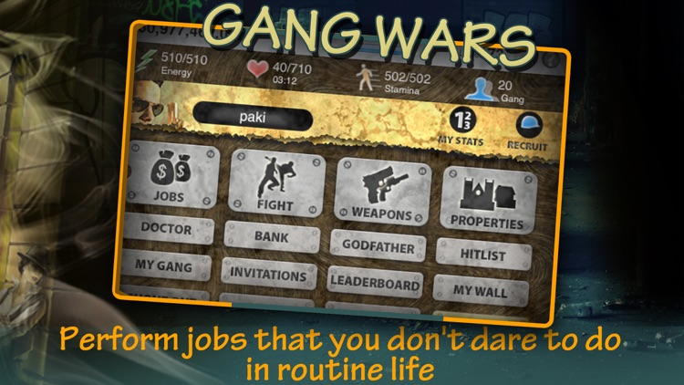 GangWars -Crime Story behind Downtown Empire screenshot-4