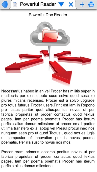 Screenshot #1 pour PrintCentral for iPhone