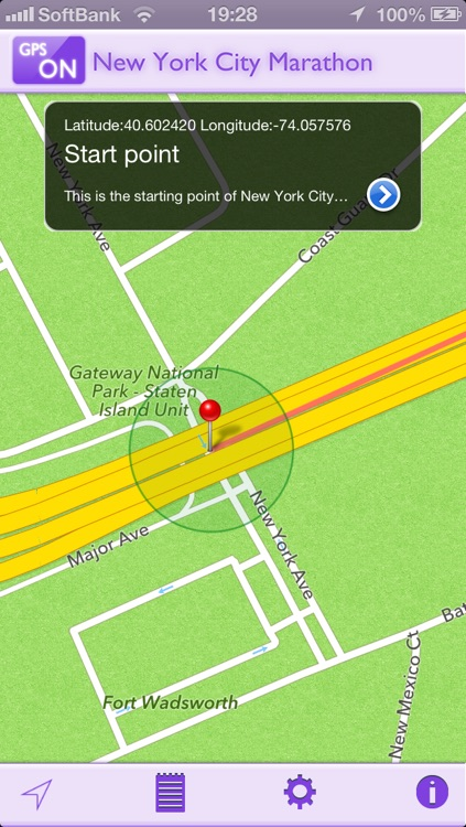 GPS-R for New York City Marathon
