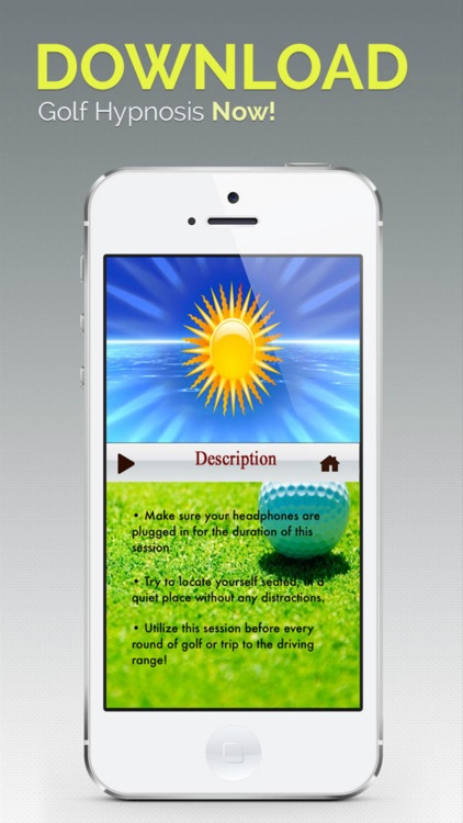 Golf Hypnosis – Mental Skills Coach to Improve Your Focus, Perfect Your Swing and Shoot Under Par screenshot-4