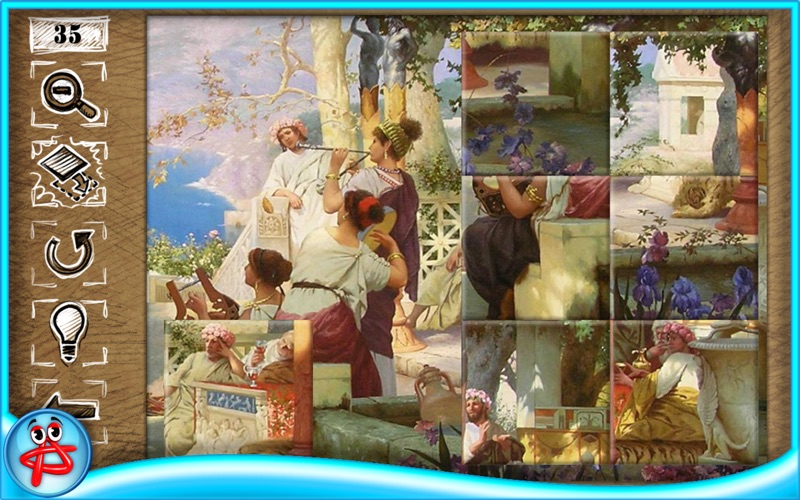 Greatest Artists Jigsaw Puzzle screenshot 2