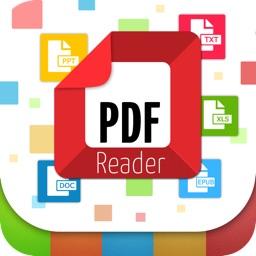 PDF,EPUB,PPT,DOC,XLS Files Reader Pro