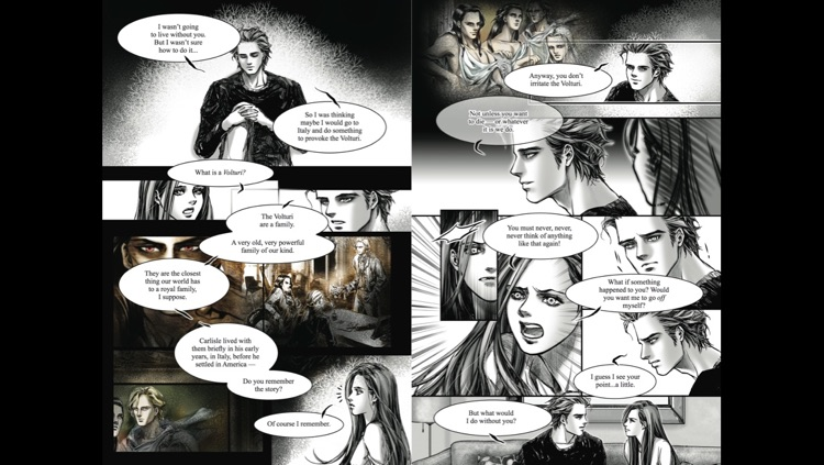 New Moon: The Graphic Novel, Vol. 1 screenshot-4