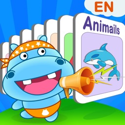 Hippo Interactive Flash Cards and Games (with HD pictures and voice)
