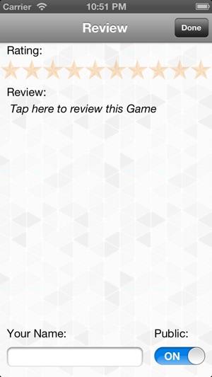 game backlog tracker