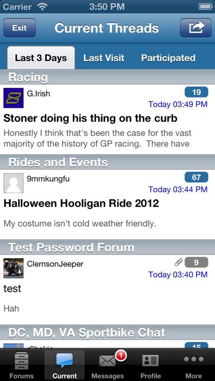 Forum Runner - vBulletin, phpBB, XenForo, and myBB Forum Reader screenshot-3
