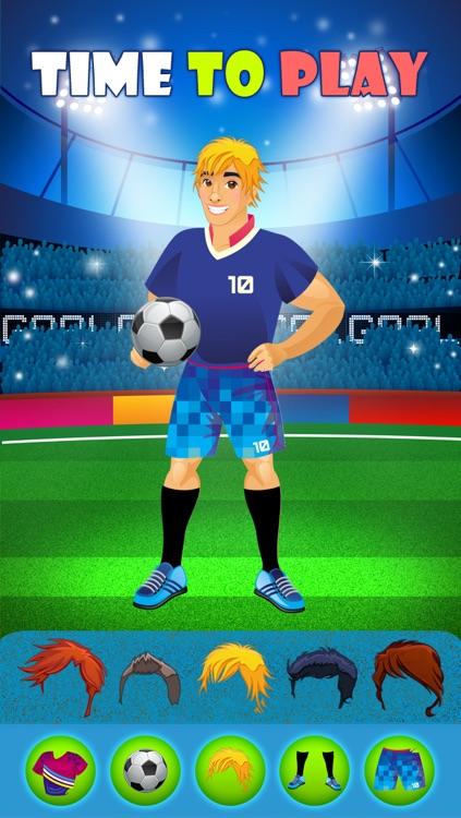 World Football Stars - Free Dress Up Game