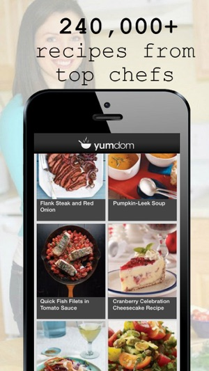 Yumdom free tasty recipes for your diet allergy and nutrition iphone screenshots forumfinder Choice Image