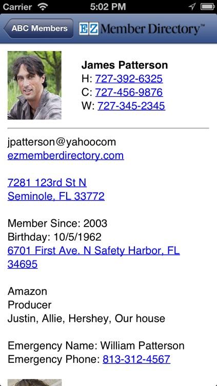 EZ Member Directory screenshot-3
