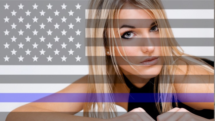 Flag Your Images - Support Law Enforcement Free
