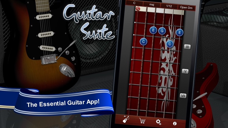 Guitar Suite - Metronome, Tuner, and Chords Library for Guitar, Bass, Ukulele screenshot-0