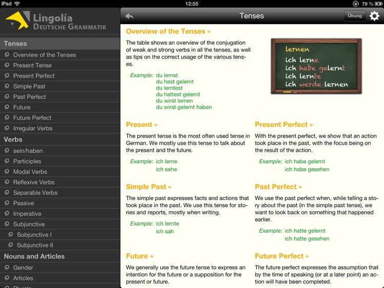 Lingolia German Grammar screenshot-0