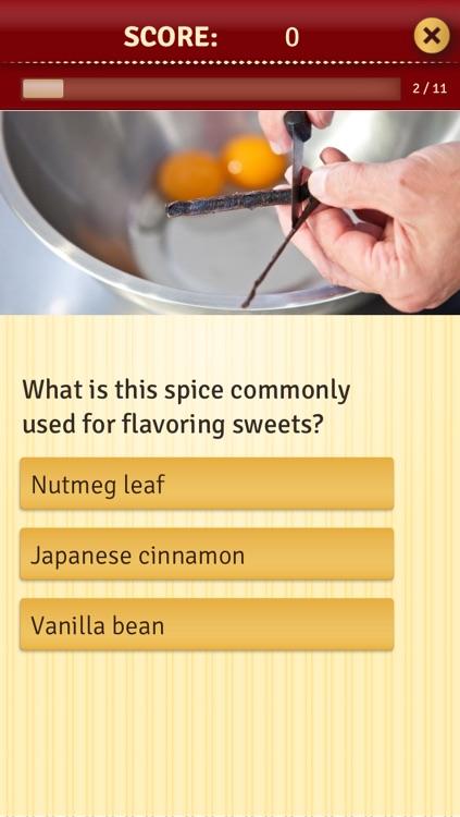 Escoffier Chef's Quiz screenshot-3