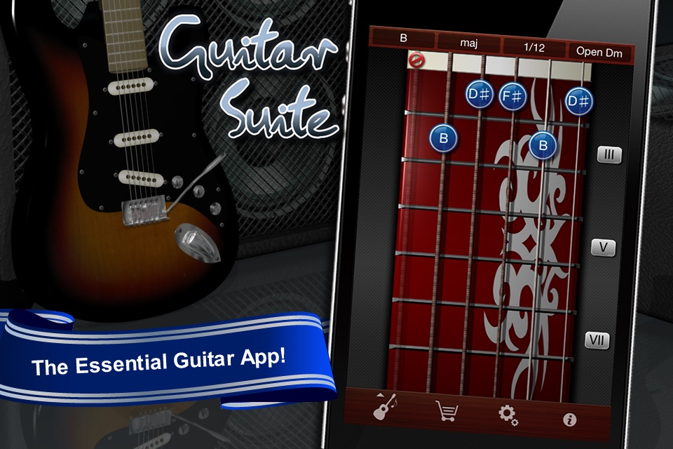 Guitar Suite Metronome Tuner And Chords Library For Guitar Bass