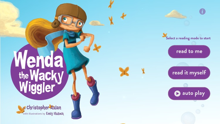 Wenda the Wacky Wiggler- Interactive Storybook