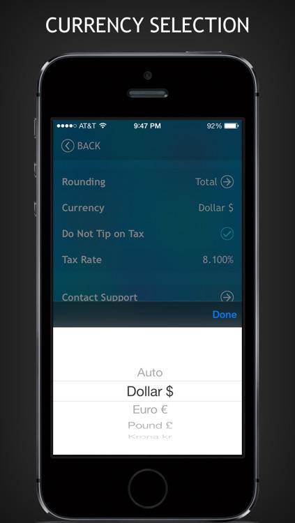 Tip Calculator Pro + screenshot-4