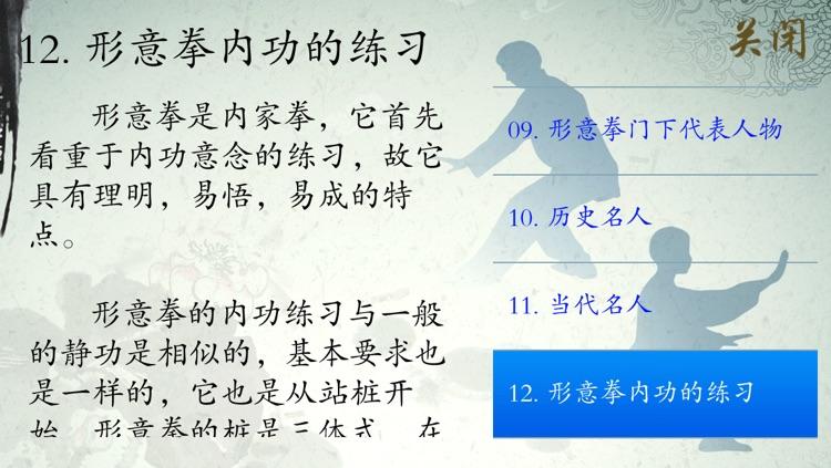 形意拳 - 武术名家讲解示范 screenshot-4