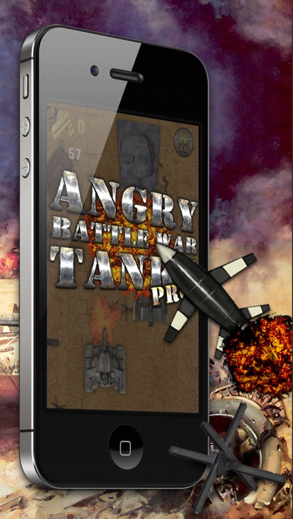Angry Battle War Tanks PRO - Free Game! screenshot-1