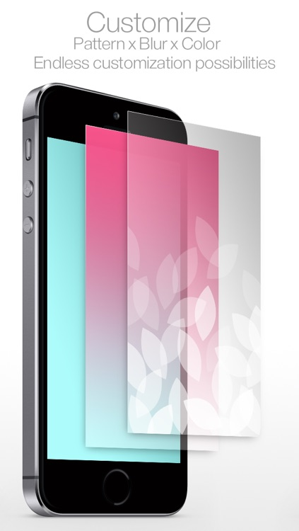 New Wallpaper Pro : for iOS7 & Parallax ( Blur & Pattern Custom themes : by YoungGam.com ) screenshot-3