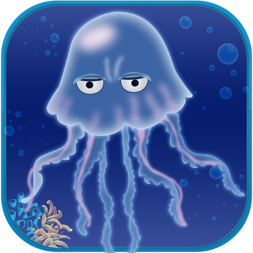 Jelly Fish Swim Rally- Escape Jellyfish Sponge Dive reef pro