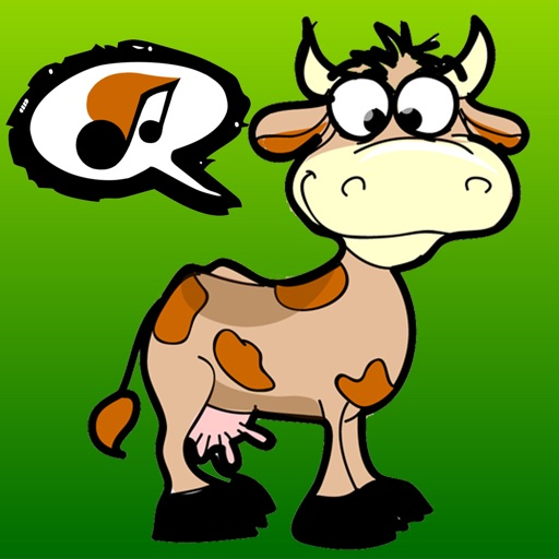 Animal sounds for kids: learn the sounds of a dog, cow, cat, sheep and horse