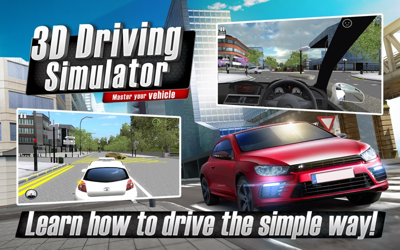 Screenshot #1 for 3D Driving Simulator - Master your vehicle