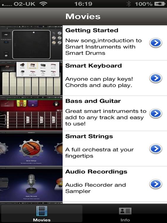 Tutorials for GarageBand vol4 HD