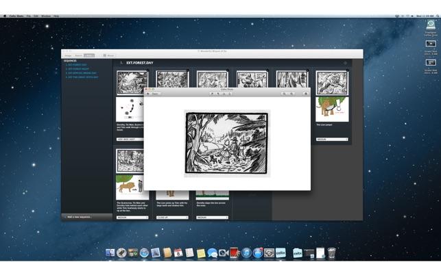 Celtx Shots on the Mac App Store