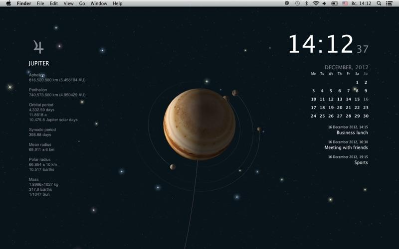 Screenshot 3 For Planets Live Wallpaper