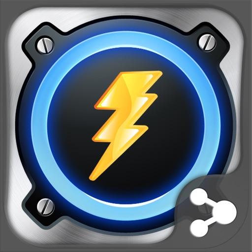 Flashlight Super Icon