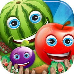 Farm Fruit Poppers - A Fun Puzzle Game