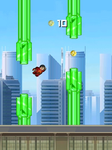 Super Flappy Justice League- Play Free Comic Hero Edition-ipad-2