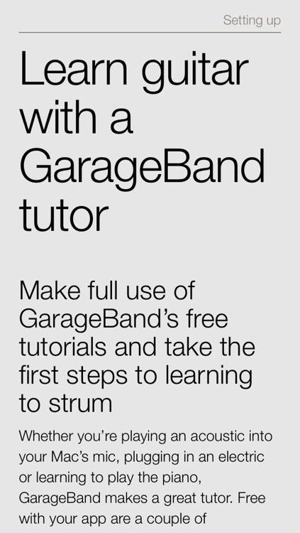 Complete Manual: GarageBand Edition screenshot-0