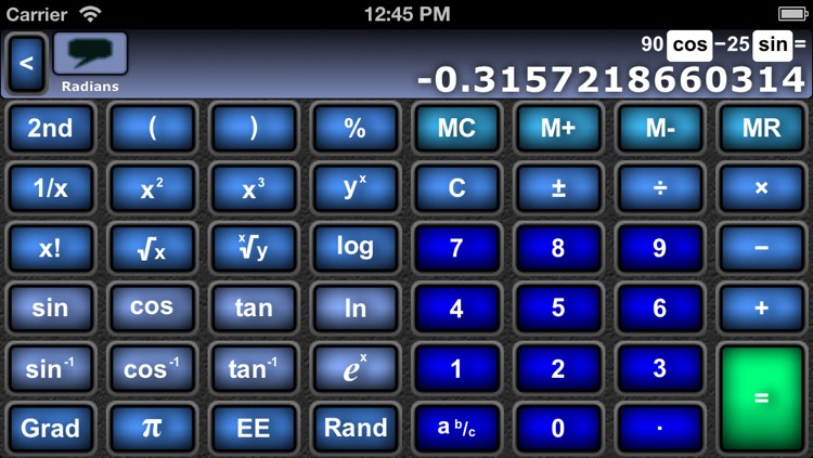 Scientific Fraction Calculator screenshot-1