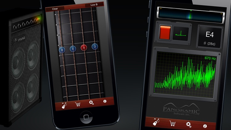 Guitar Suite - Metronome, Tuner, and Chords Library for Guitar, Bass, Ukulele