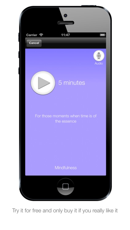 Relaxation App - Guided relaxation techniques using mindfulness and meditation
