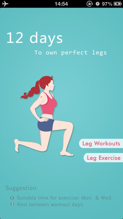 Leg Workouts - Shaping Perfect Legs in 12 Days
