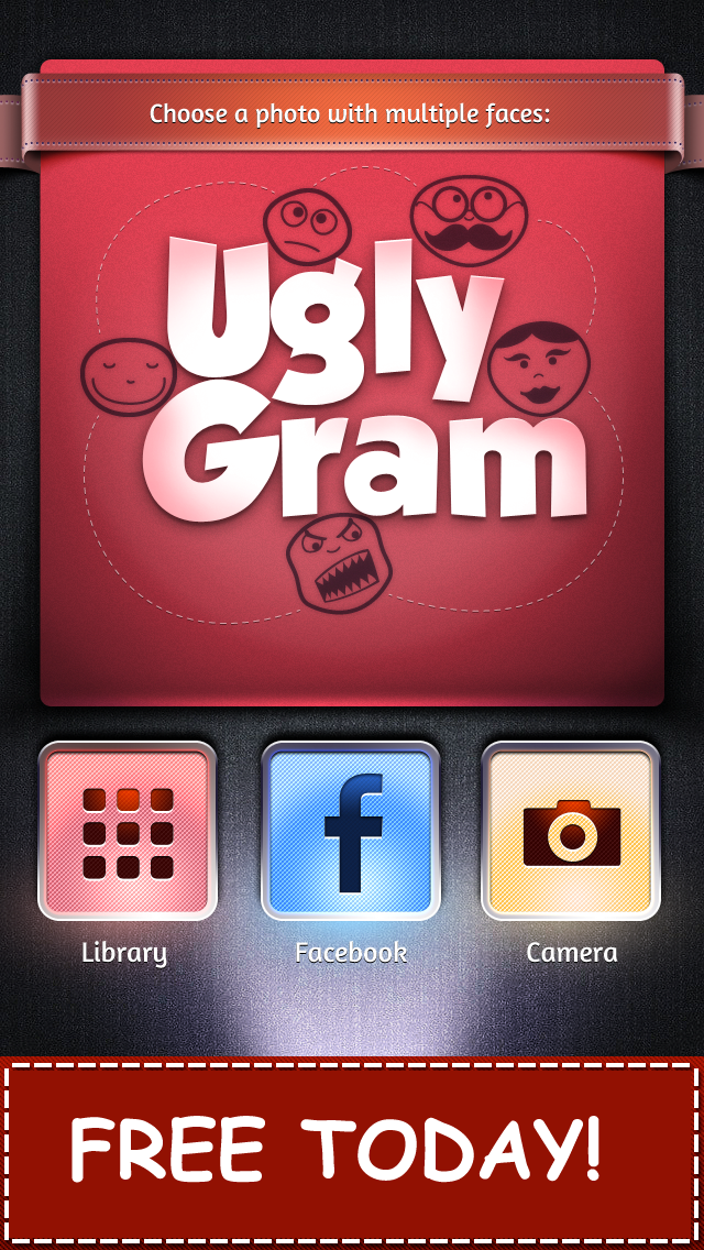 UglyGram Face Split Clone Swap - Juggle or Bomb a Photo Pic of Yourself screenshot two