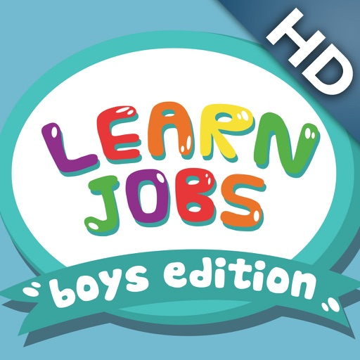 ABC Baby Jobs for Boys PRO - 3 in 1 Game for Preschool Kids - Learn Names of Professions and Occupations