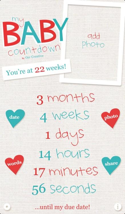 My Baby Countdown