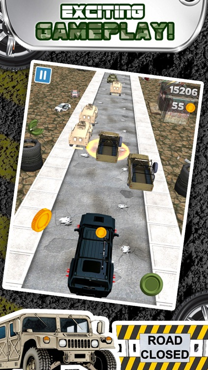 3D Humvee Army Race Game By Top Racing War Games For Cool Boys And Teens FREE