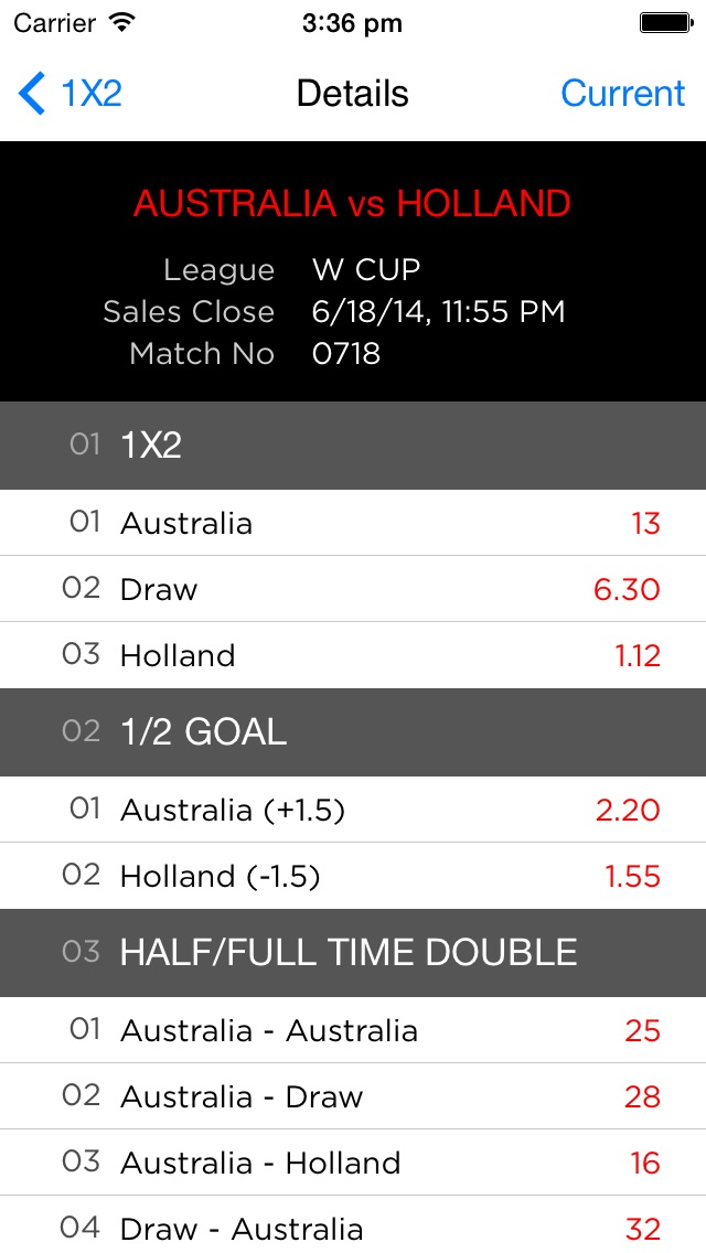 SG Football - Singapore Pools odds for soccer sports betting - AppRecs