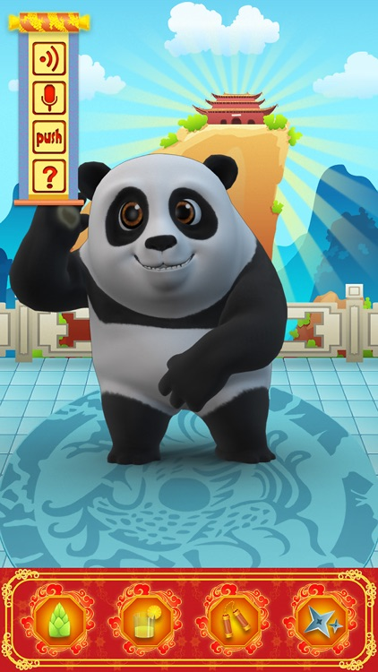 Talking Bruce the Panda