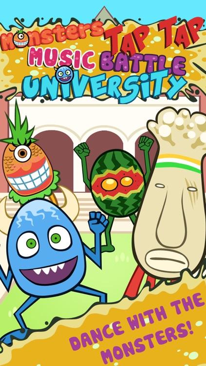 Monsters Tap Tap Music Battle University