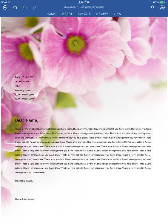 Templates for Microsoft Word Free screenshot-3