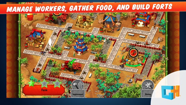 Monument Builders - Great Wall of China: A Construction and Resource Management Tycoon Game
