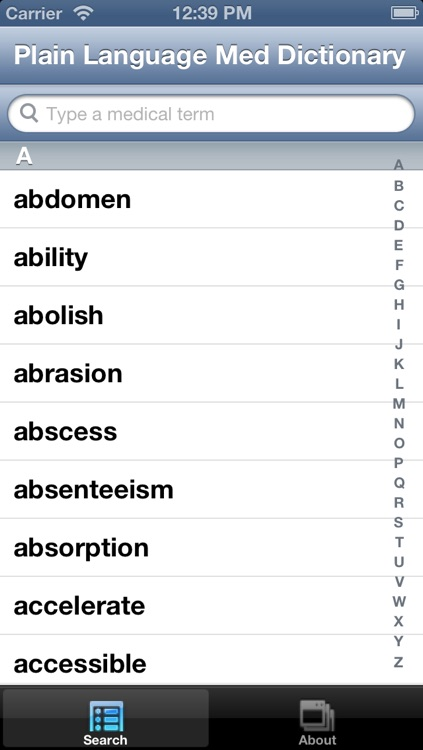 Plain Language Medical Dictionary