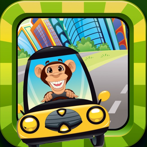 Awesome Pets Driving School: Free Baby Monkey and Puppy Kids Game