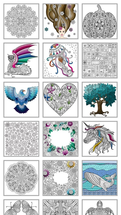 Mindfulness coloring - Anti-stress art therapy for adults (Book 4)